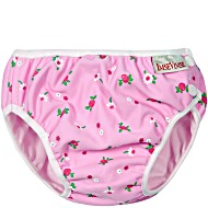 Детские непромокаемые трусики для бассейна Imsevimse Бело-розовые Цветы