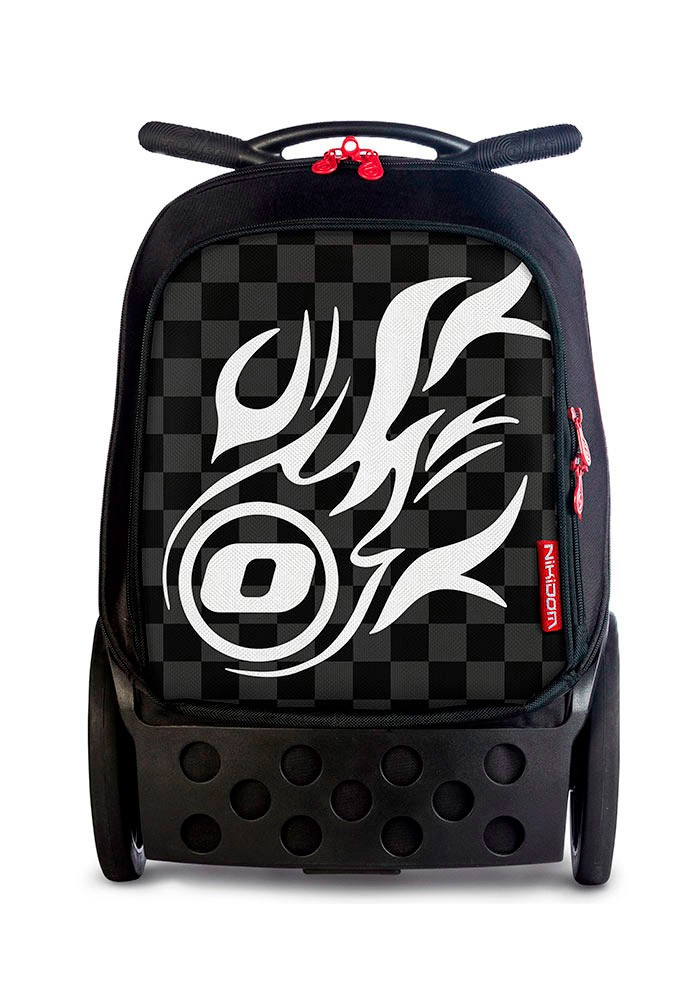 Рюкзак на колесиках Roller Nikidom White Fire XL арт. 9319 (27 литров), - фото 1